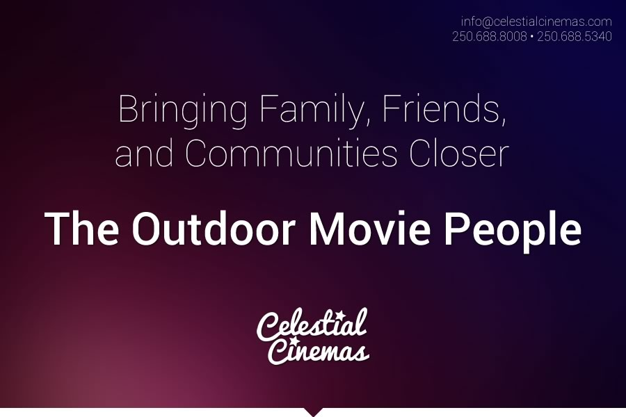 outdoor movie theatre rentals celestial cinemas